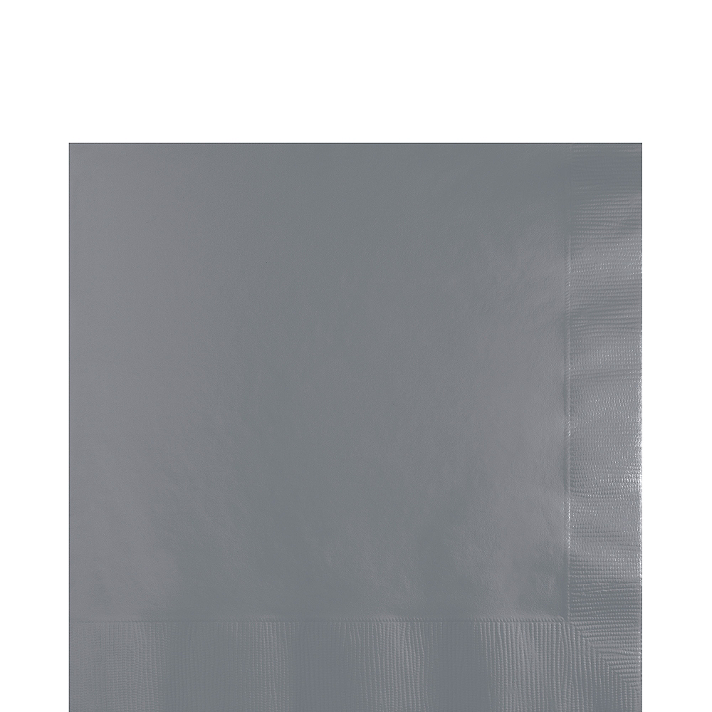 Gray Lunch Napkins 50ct Image #1