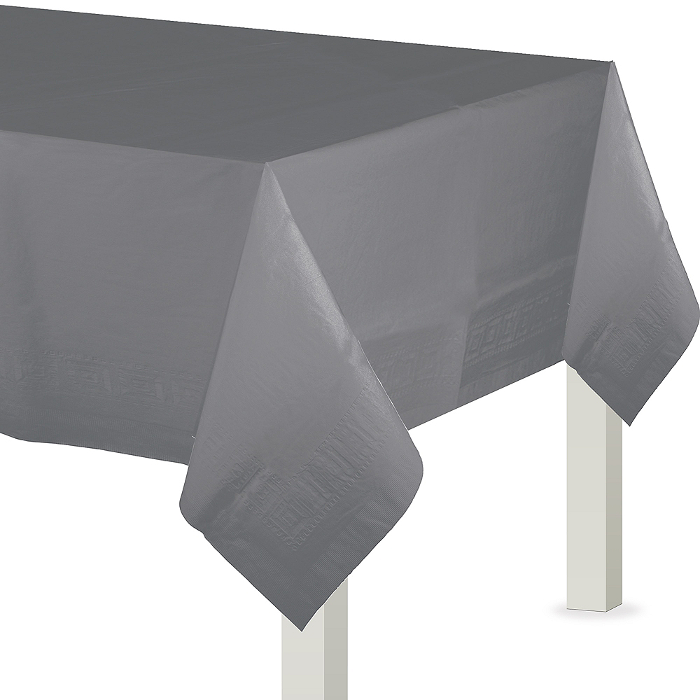 Gray Paper Table Cover Image #1