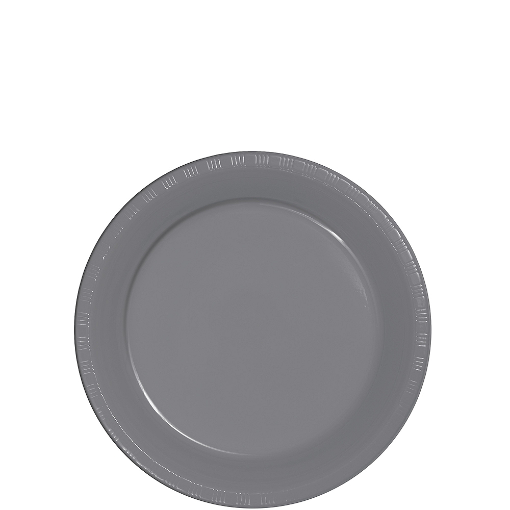 Nav Item for Gray Dessert Plates 20ct Image #1
