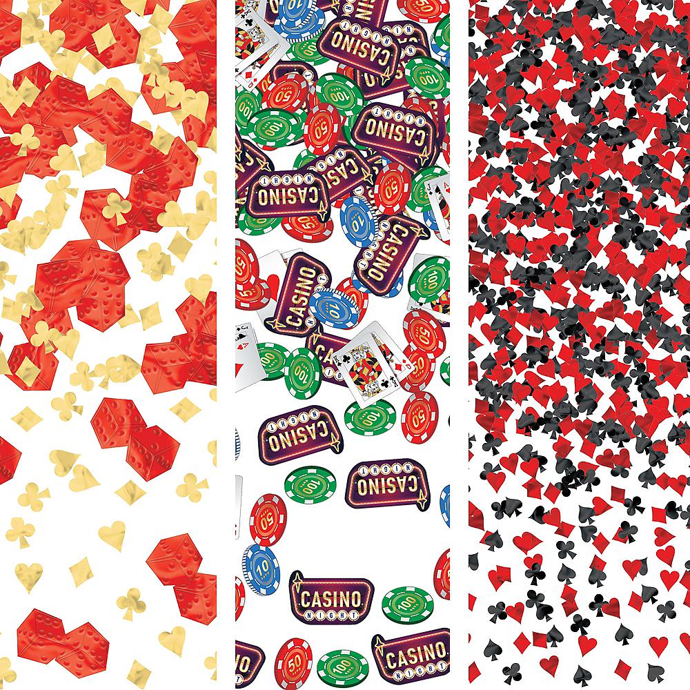 Roll the Dice Casino Confetti Image #1