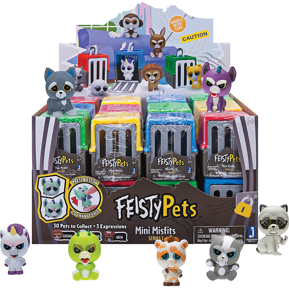 Feisty Pets Mini Misfits Series 1 Mystery Pack Image #1