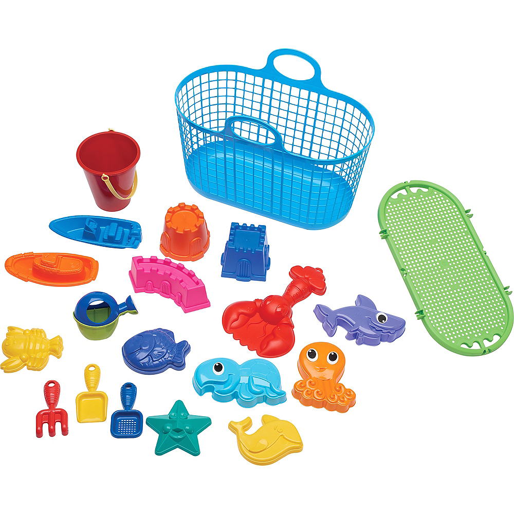 Nav Item for Beach Toy Basket Set 20pc Image #1