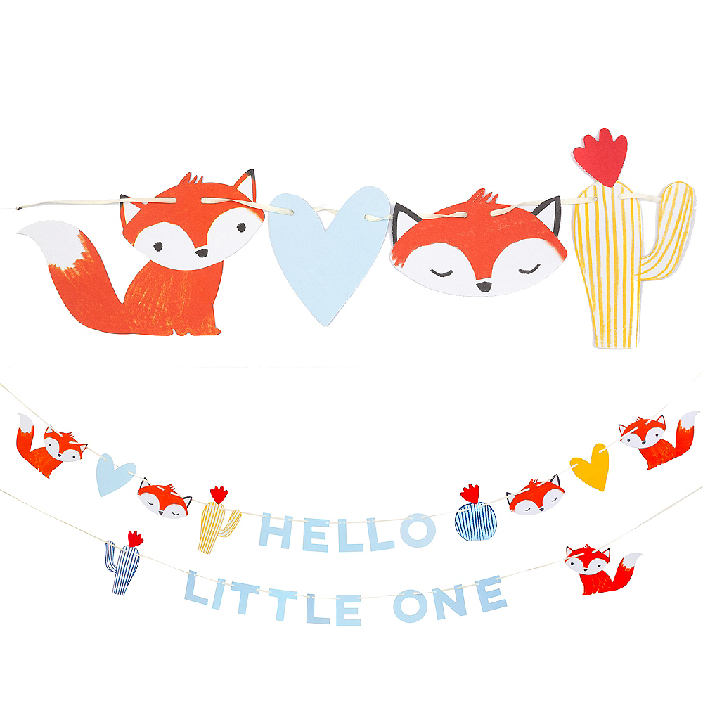 Baby Fox Letter Banners 2ct Image #1