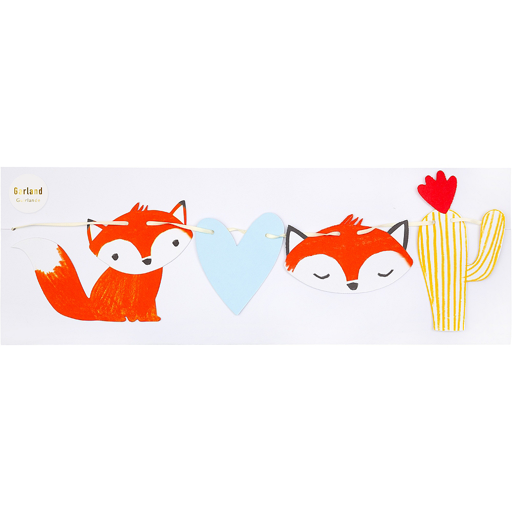 Baby Fox Letter Banners 2ct Image #2