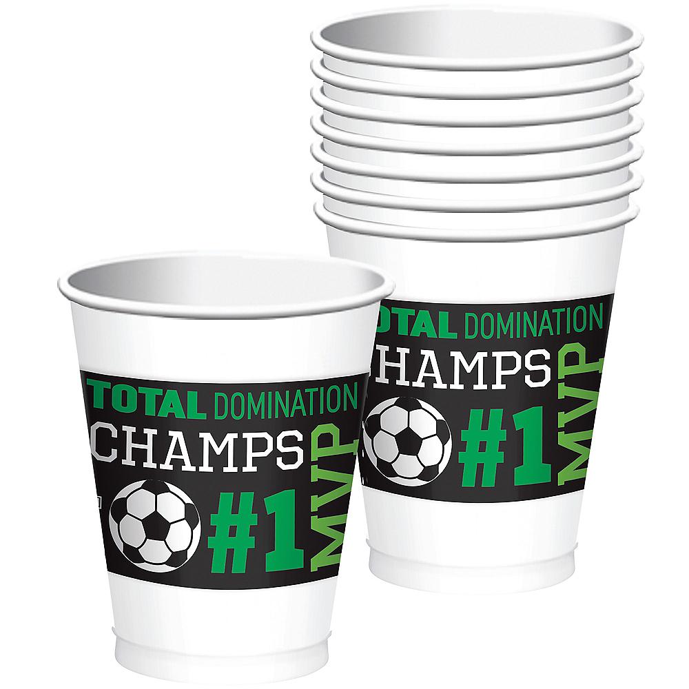 Goal Getter Soccer Plastic Cups 8ct Image #1