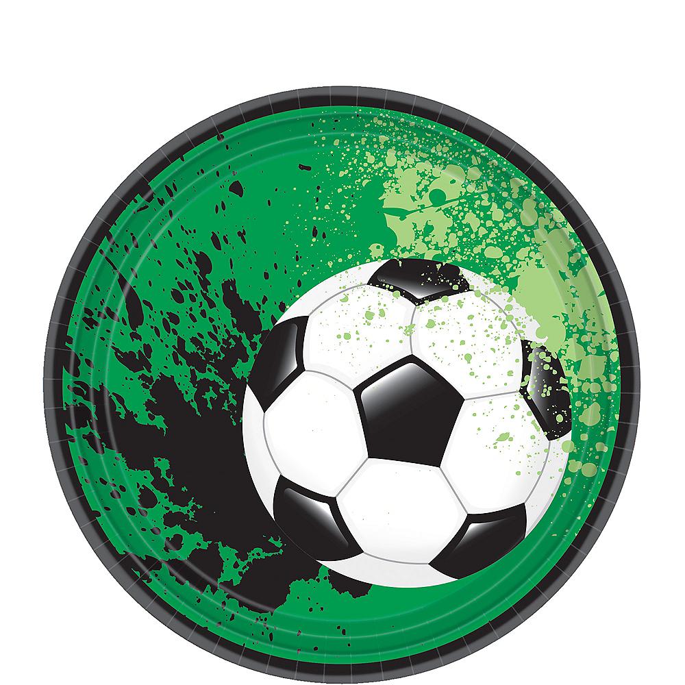 Goal Getter Soccer Dessert Plates 18ct Image #1