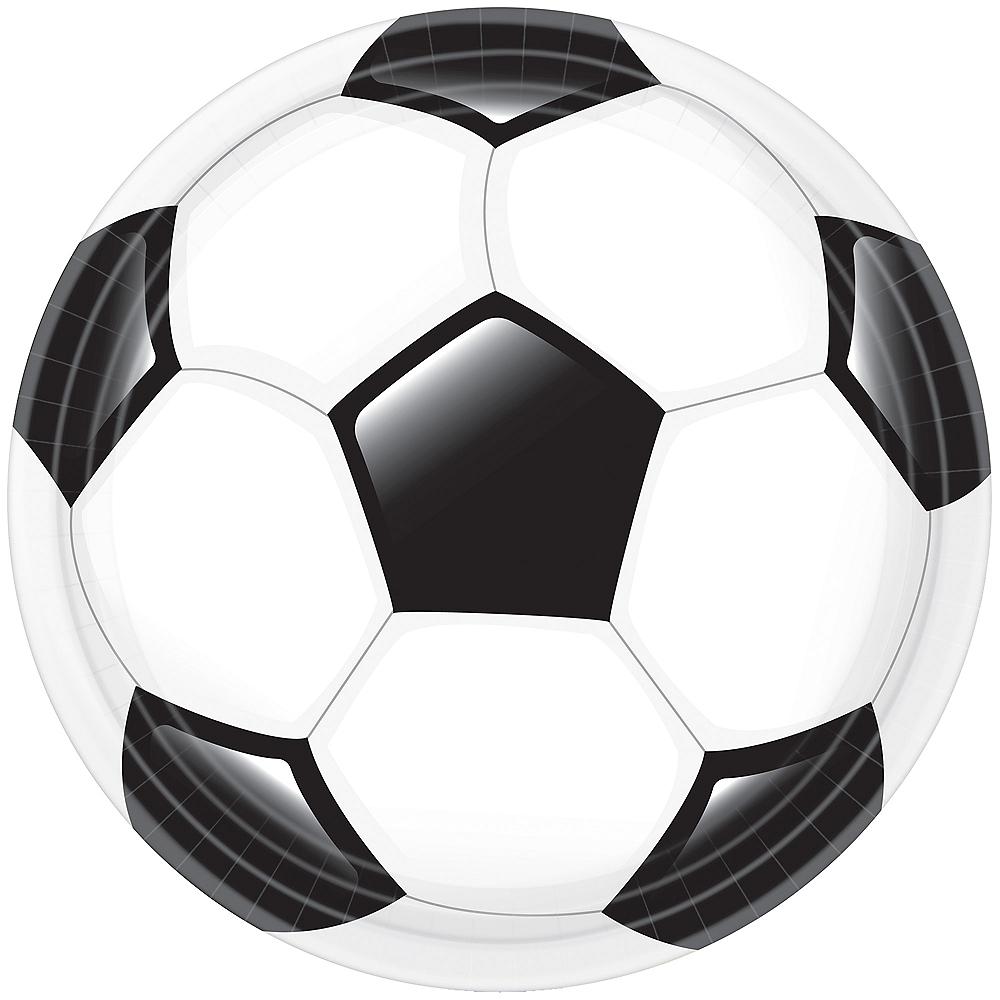 Goal Getter Soccer Dinner Plates 18ct Image #1