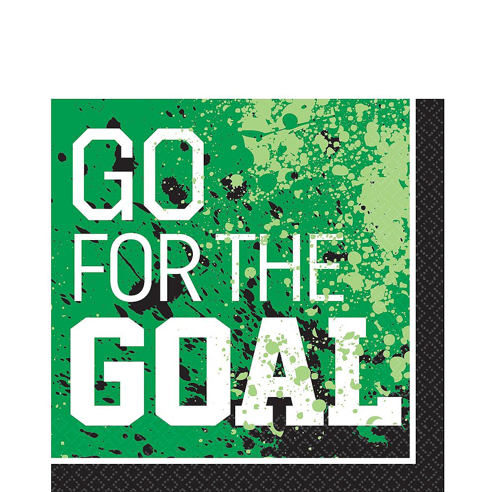 Goal Getter Soccer Lunch Napkins 36ct Image #1