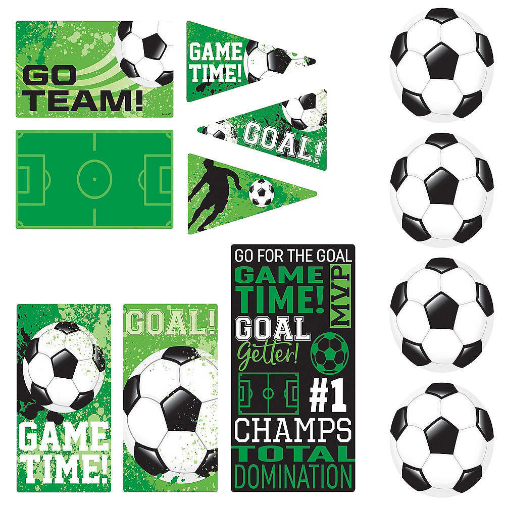 Goal Getter Soccer Cutouts 12ct Image #1