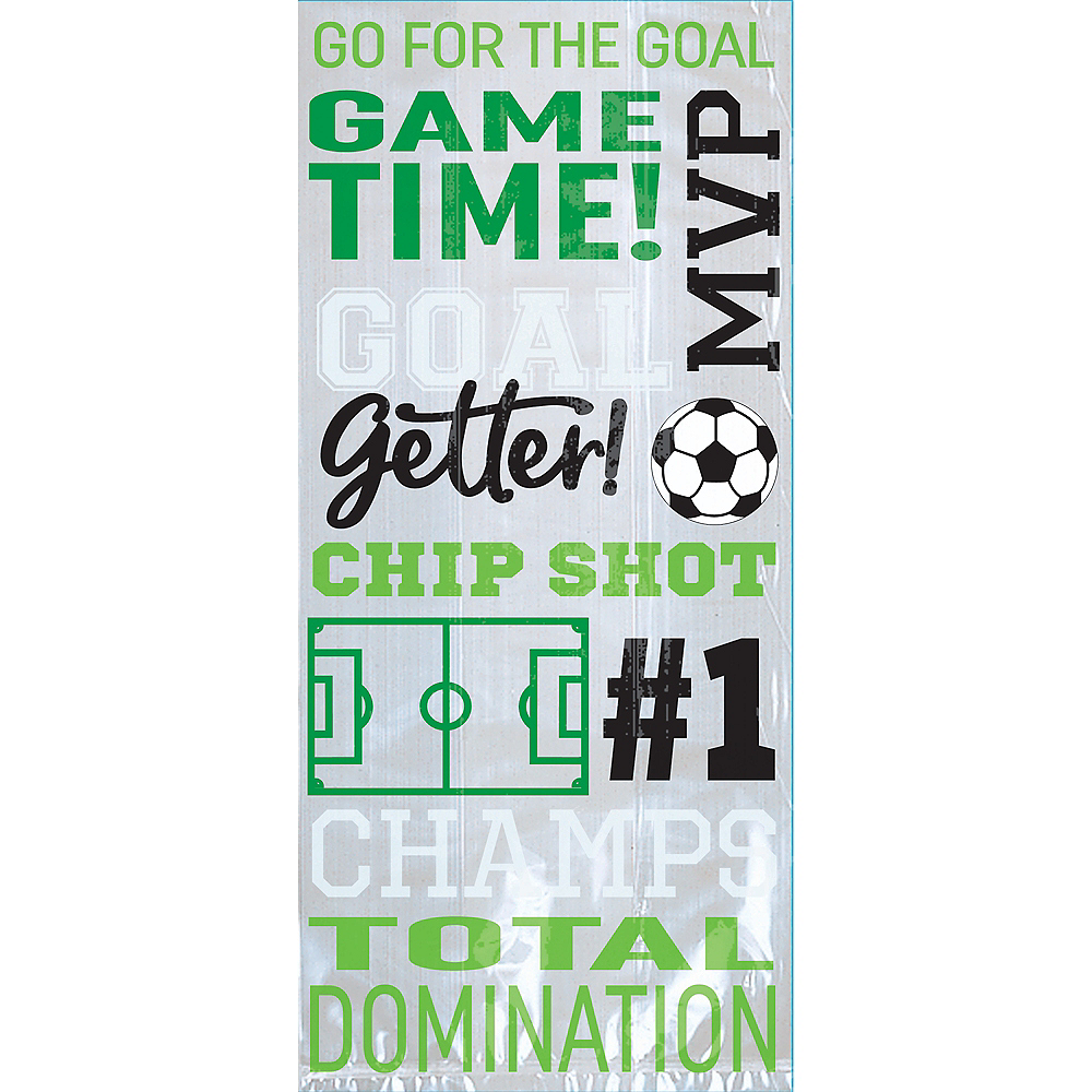 Goal Getter Soccer Treat Bags 20ct Image #1