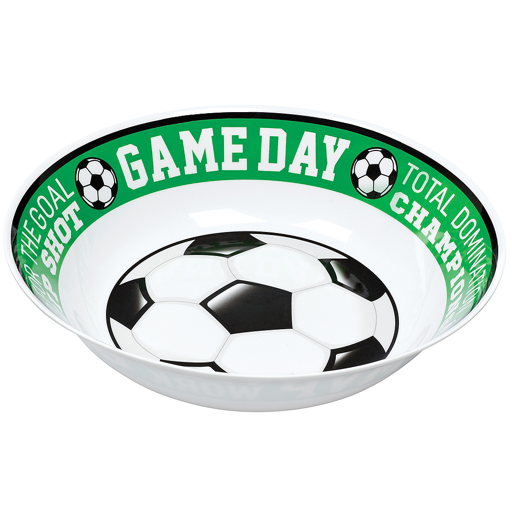 Goal Getter Game Day Soccer Serving Bowl Image #1