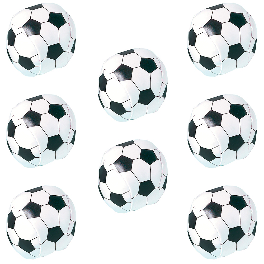 Nav Item for Soft Soccer Balls 8ct Image #1