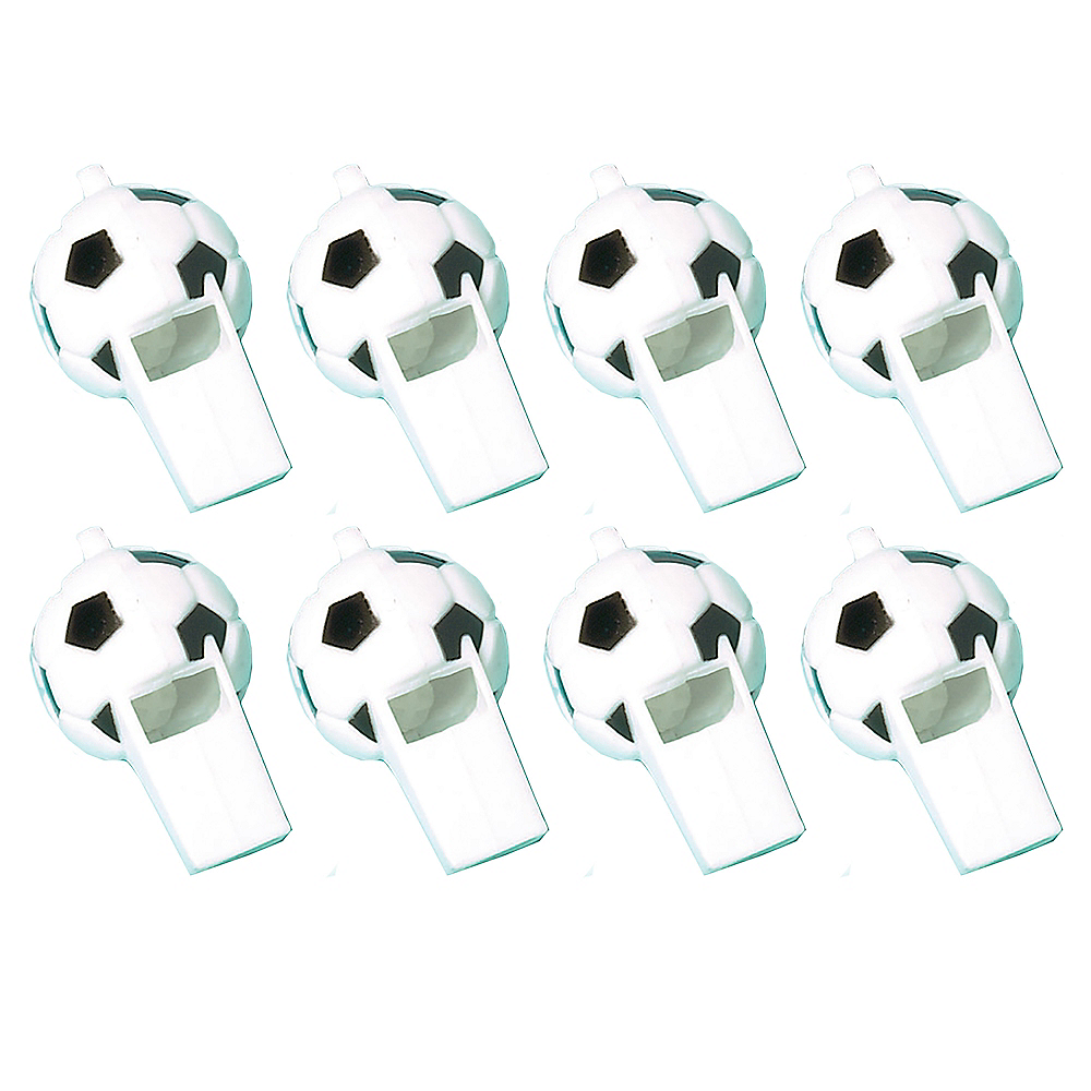 Nav Item for Soccer Whistles 8ct Image #1