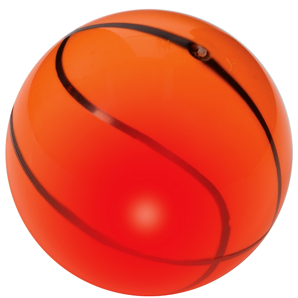 Light-Up Bounce Basketball Image #1