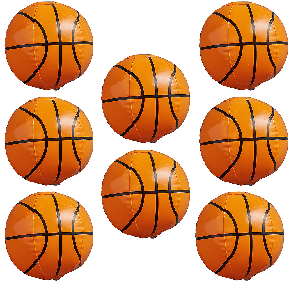 Nav Item for Inflatable Basketballs 8ct Image #1