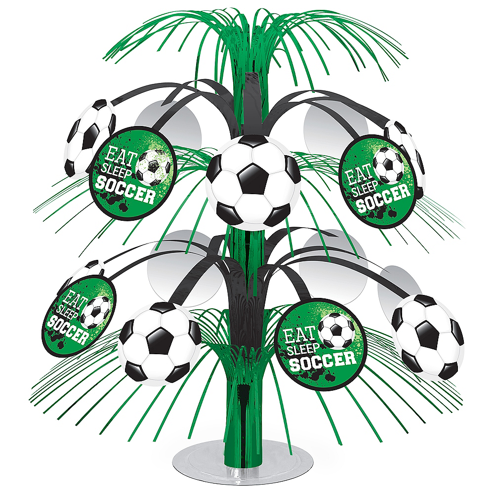 Nav Item for Goal Getter Soccer Cascade Centerpiece Image #1