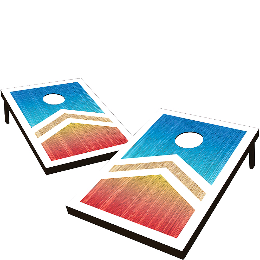 Deluxe Bean Bag Toss Game Image #1