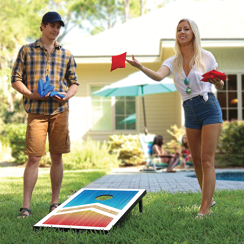 Deluxe Bean Bag Toss Game Image #2