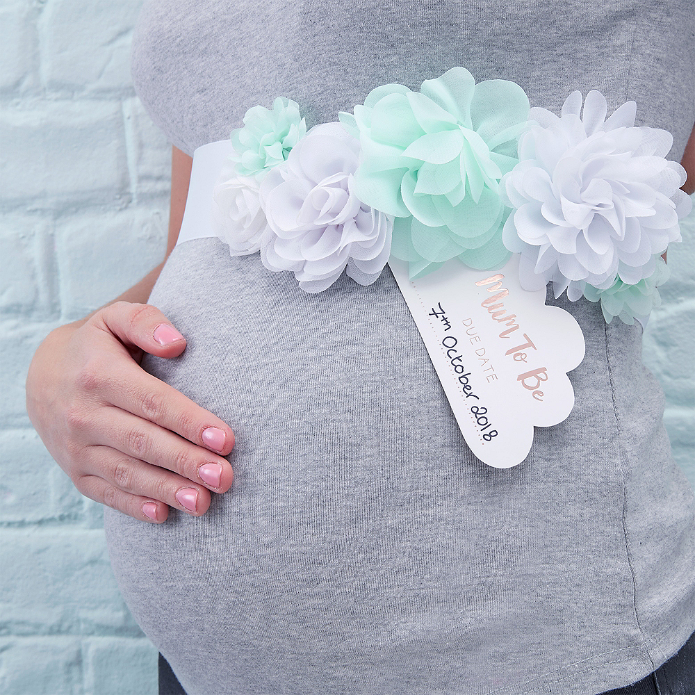 Essential Mummy to Be Baby Shower Sash Gift Decorations Accessories All Colours