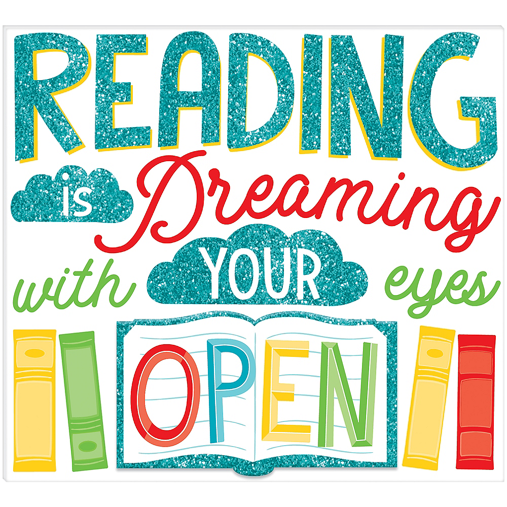 Mini Reading is Dreaming Easel Sign Image #1