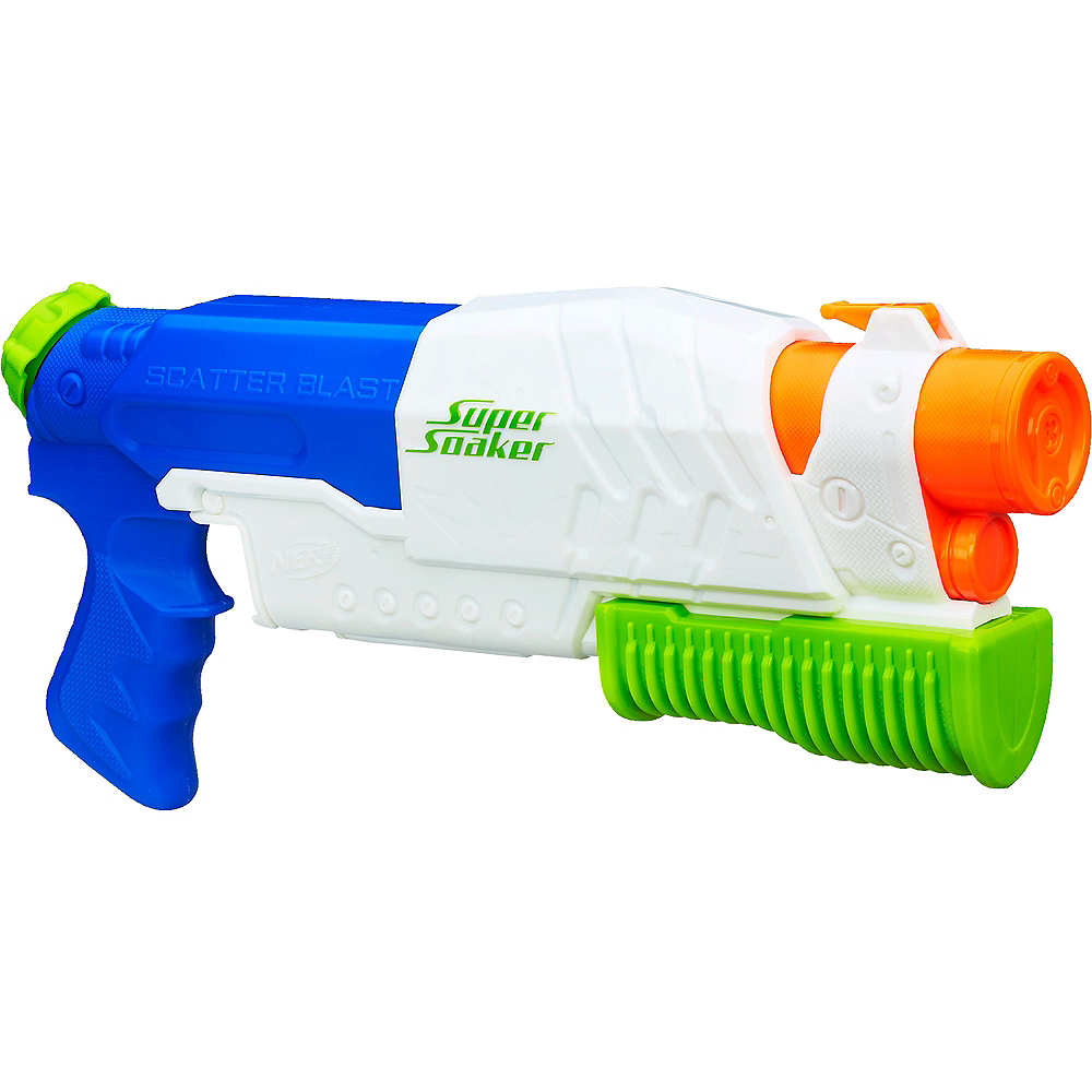 Nav Item for Nerf Super Soaker Scatter Blast Water Blaster Image #1