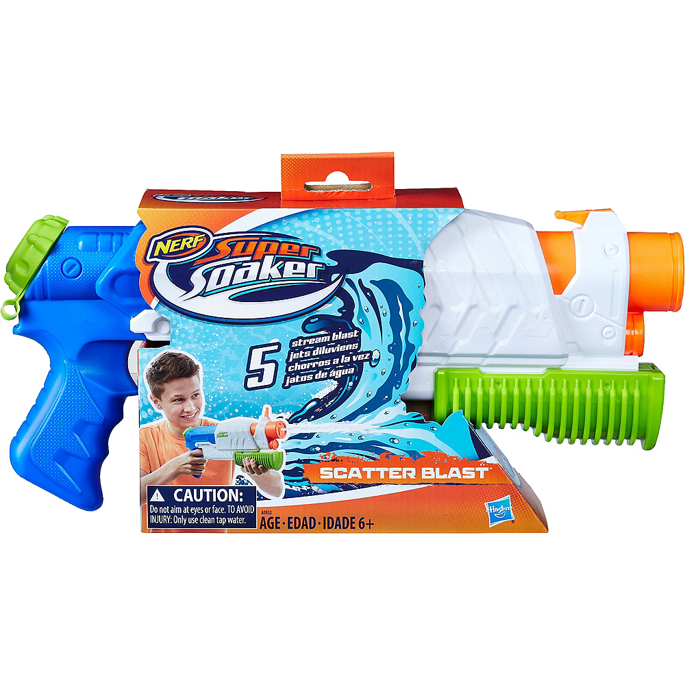Nav Item for Nerf Super Soaker Scatter Blast Water Blaster Image #2