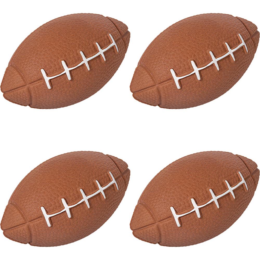 Sponge Footballs 4ct Image #1