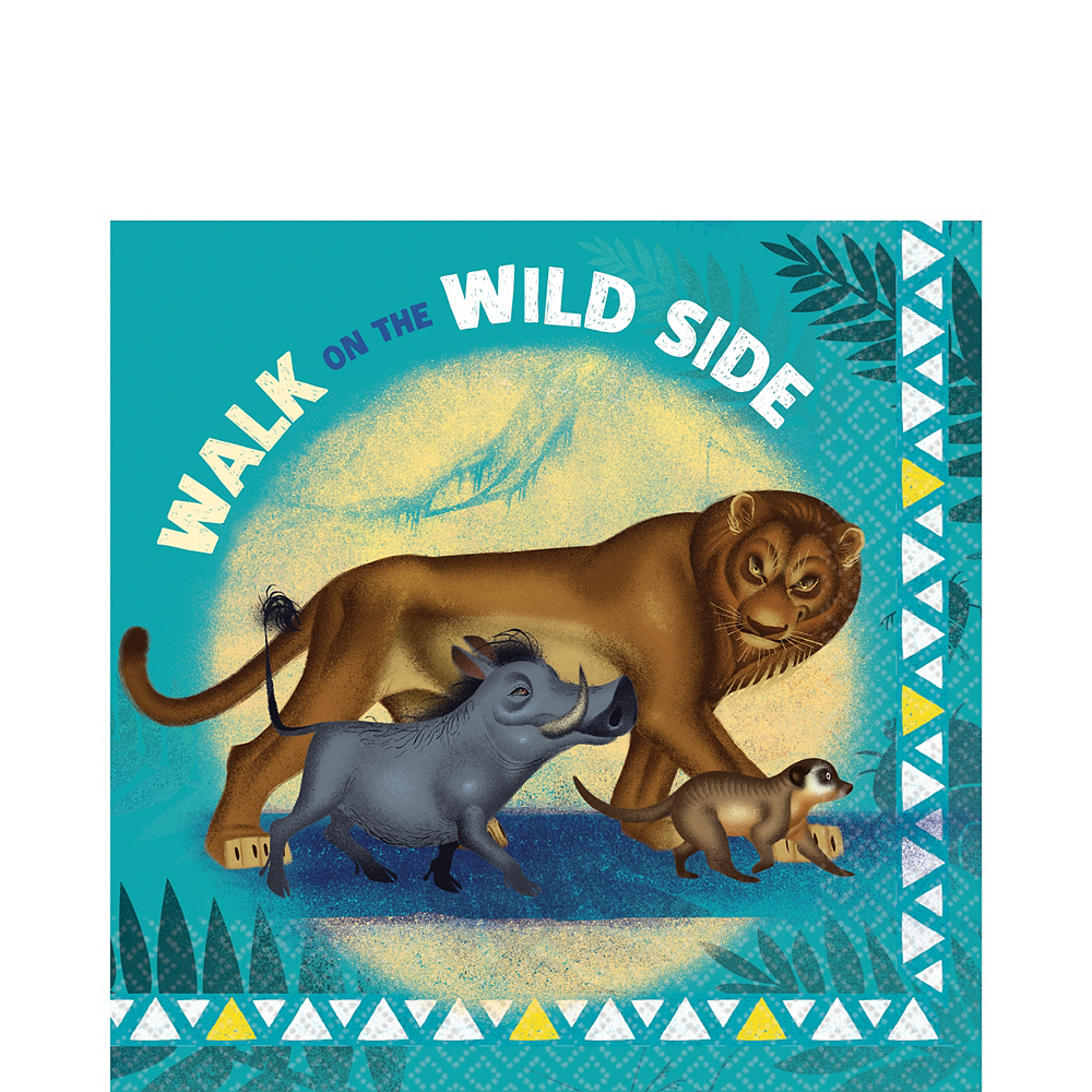 The Lion King Lunch Napkins 16ct Image #1