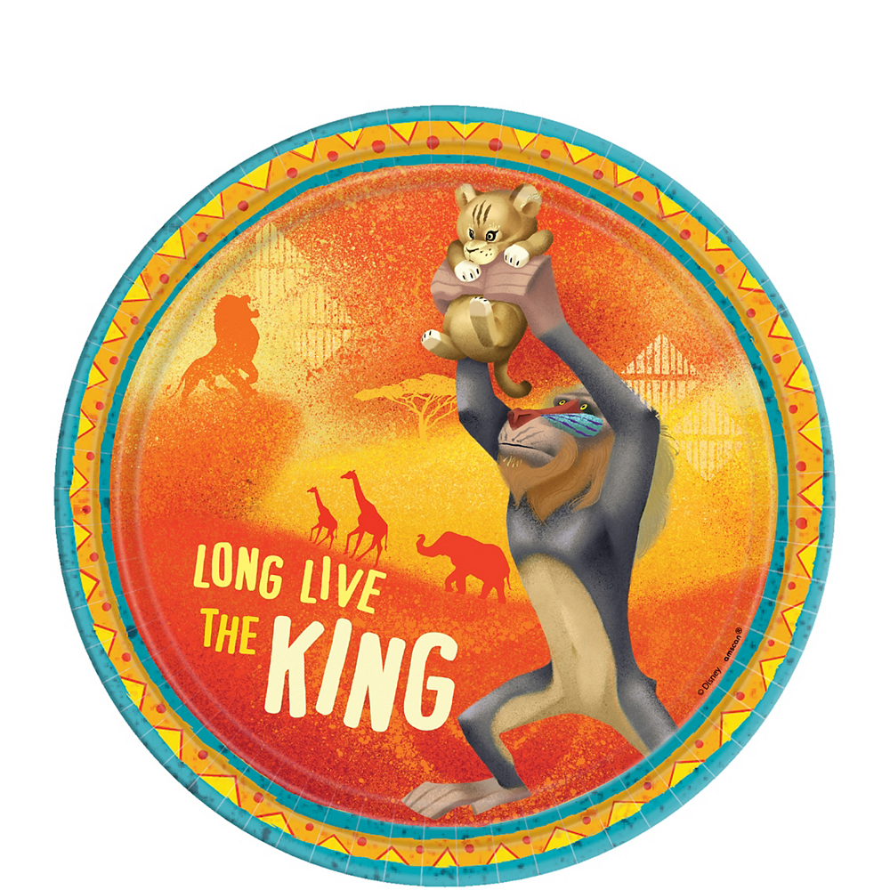 The Lion King Dessert Plates 8ct Image #1