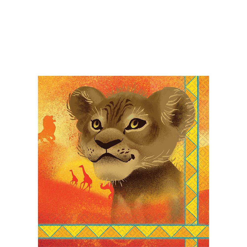 The Lion King Beverage Napkins 16ct Image #1