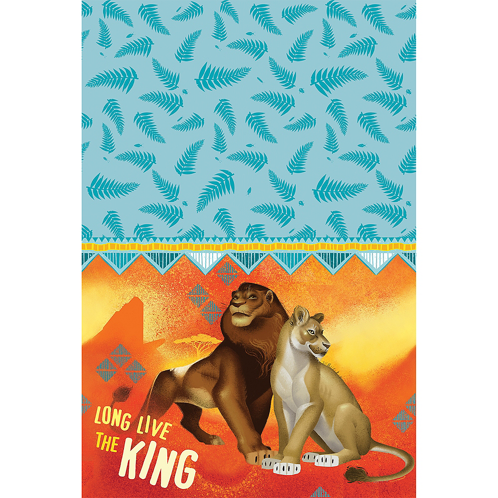 The Lion King Paper Table Cover Image #1