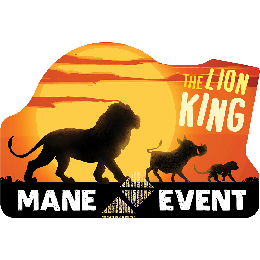 The Lion King Invitations 8ct Image #1