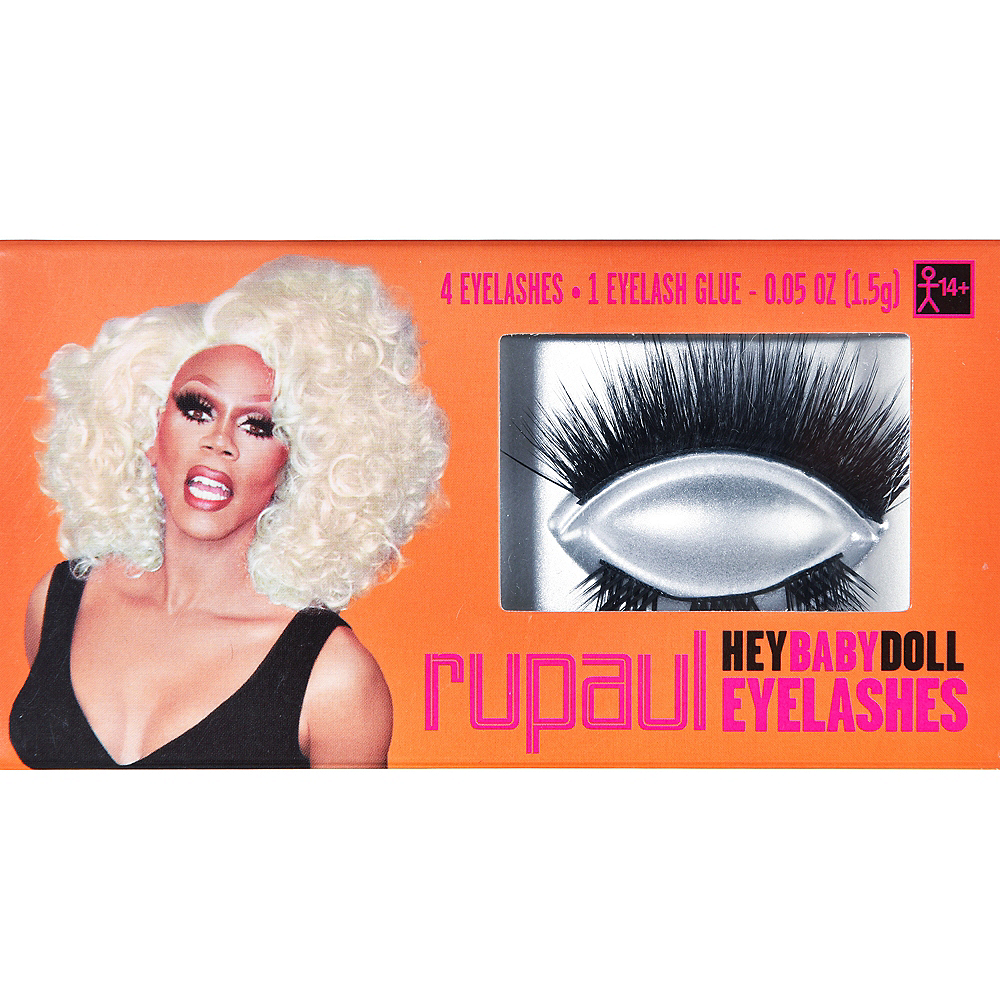 Hey Baby Doll RuPaul Eyelashes Image #1