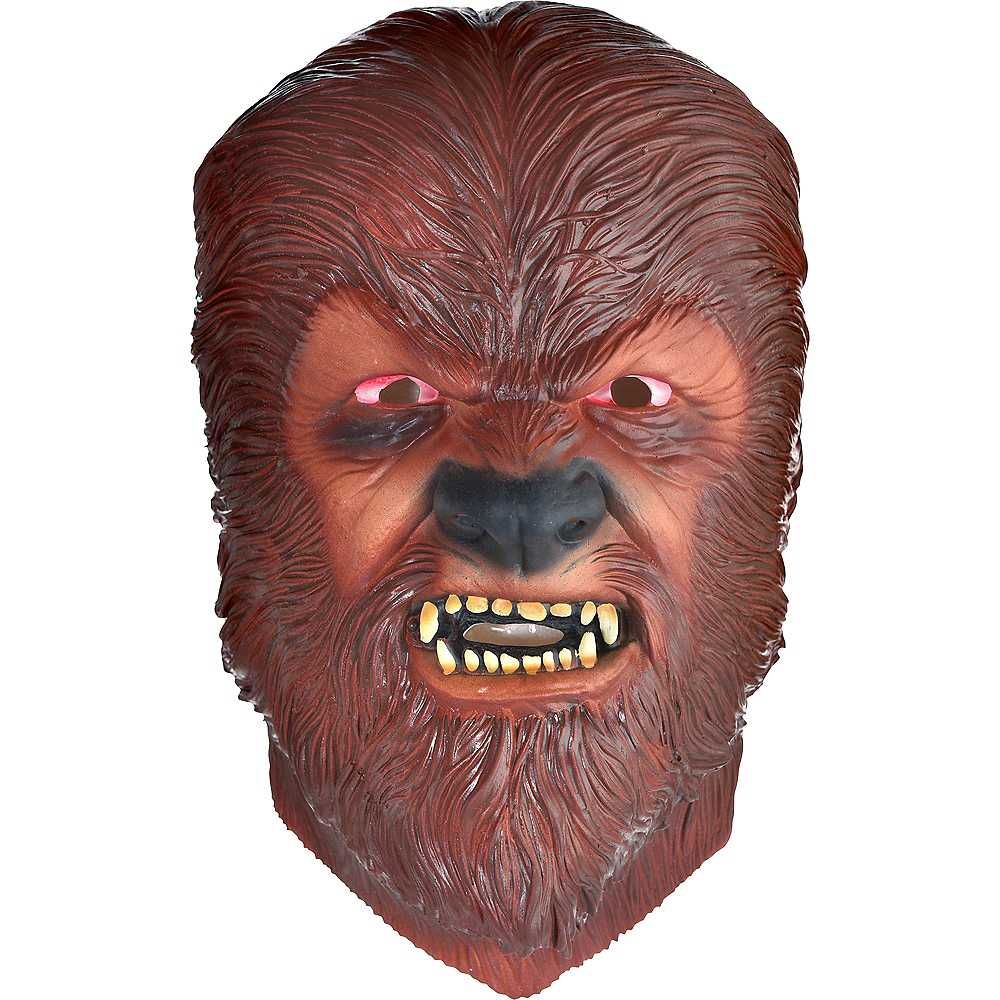 Nav Item for Classic Wolf Man Mask Image #1