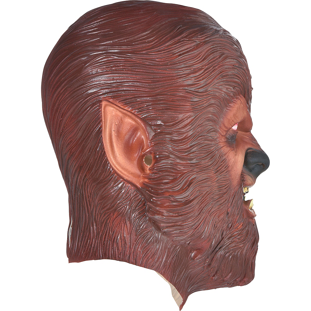 Nav Item for Classic Wolf Man Mask Image #2