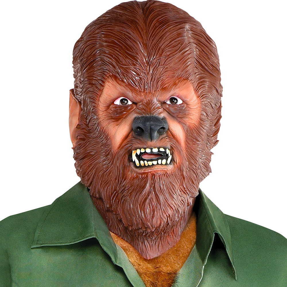 Nav Item for Classic Wolf Man Mask Image #4