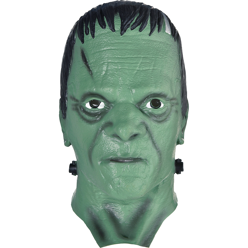 Adult Frankenstein Full Head Mask Image #1