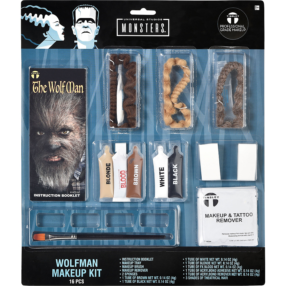 Wolfman Makeup Kit Image #2