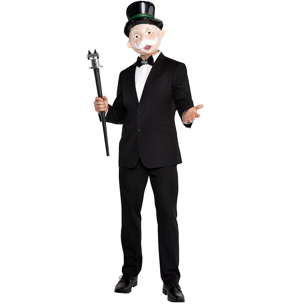 Adult Mr. Monopoly Costume Accessory Kit Image #1