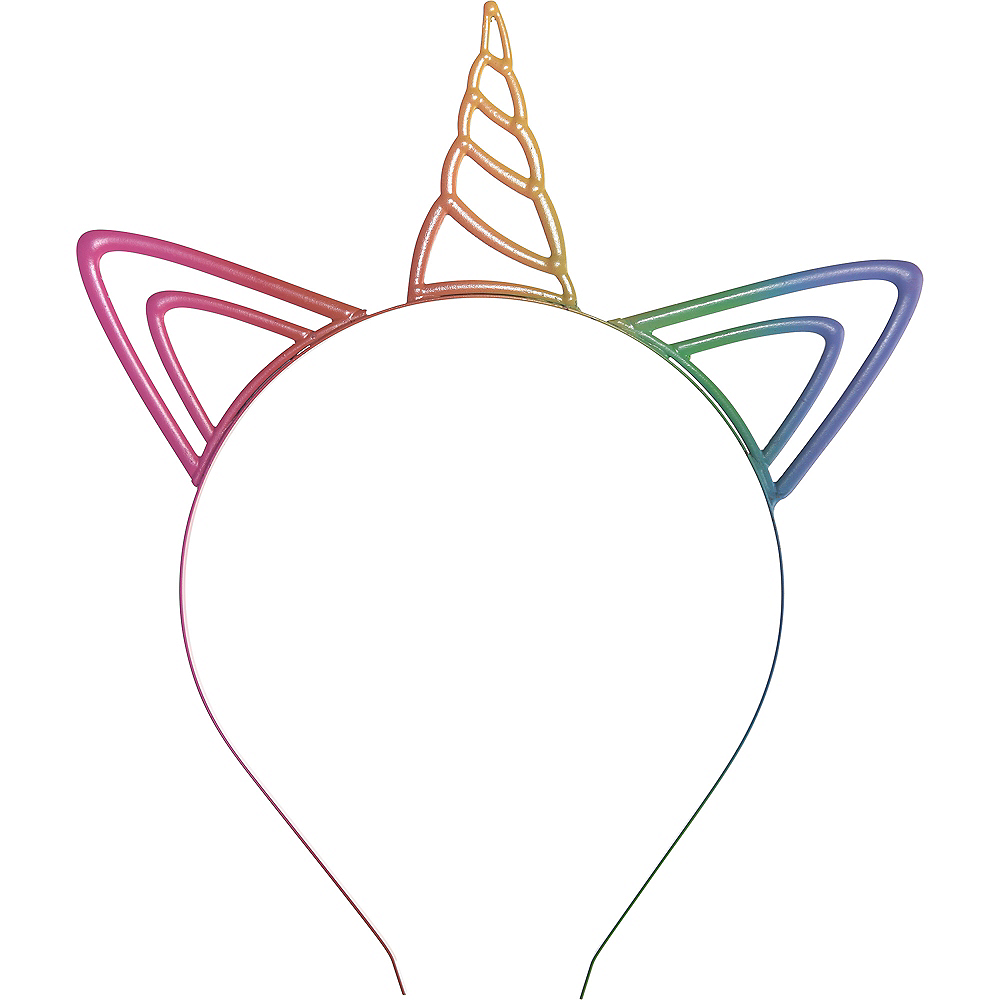Rainbow Unicorn Headband Image #1