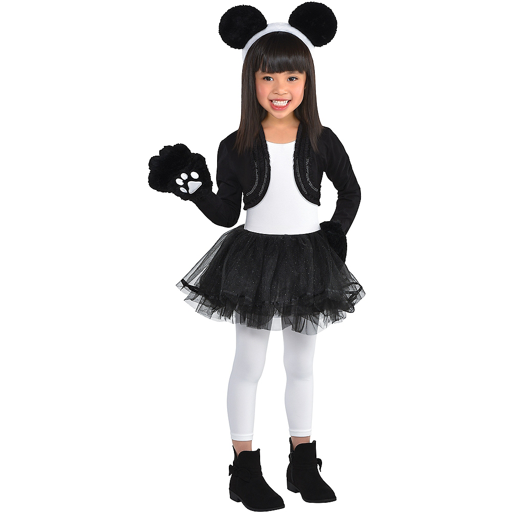 Child Panda Costume Accessory Kit Image #1