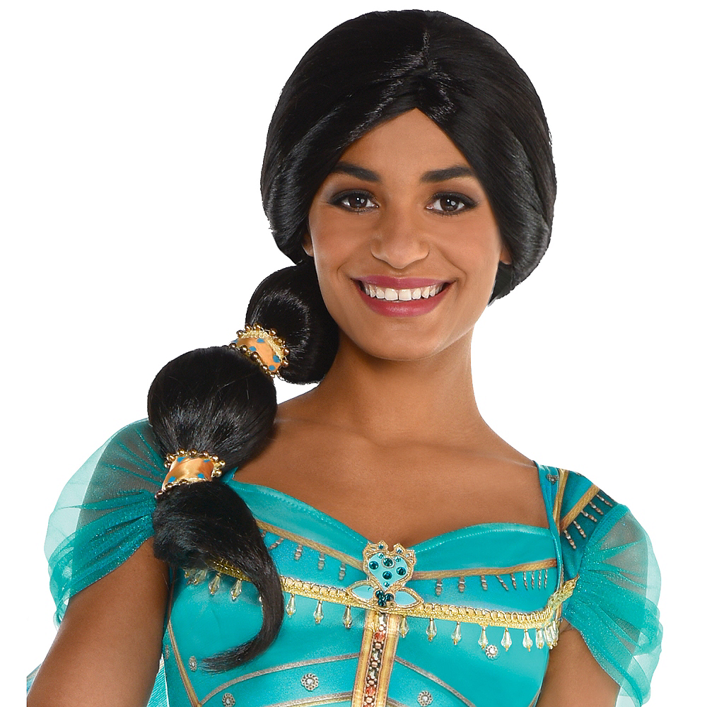 Jasmine Ponytail Wig - Aladdin Live Action Image #1