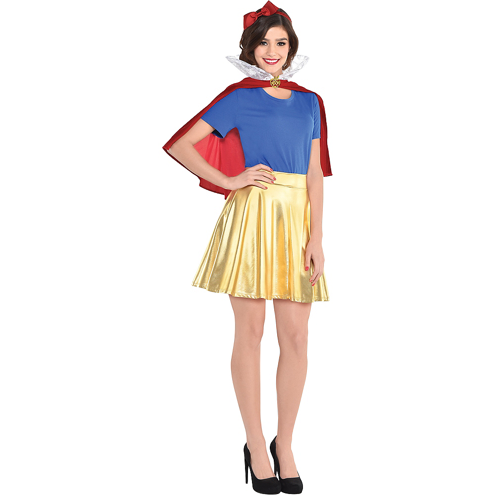 Adult Snow White Costume Accessory Kit Image #1