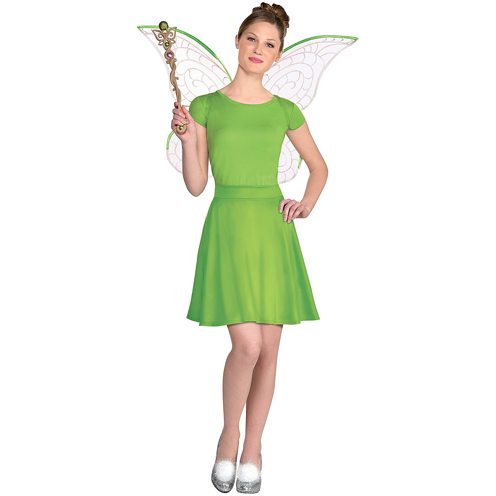 Adult Tinker Bell Costume Accessory Kit Image #1