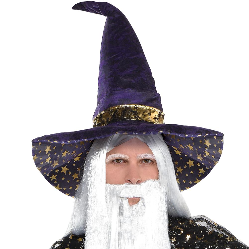 Purple Wizard Hat Image #2