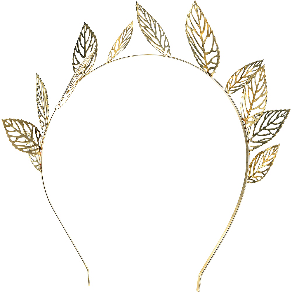 Gold Laurel Wreath Headband Image #1