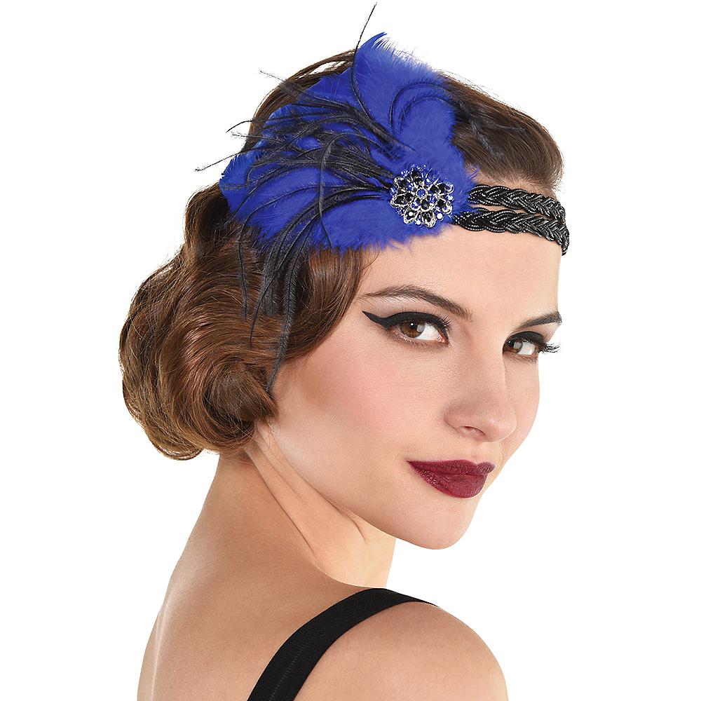 Deluxe Plume Feather Headband Image #1