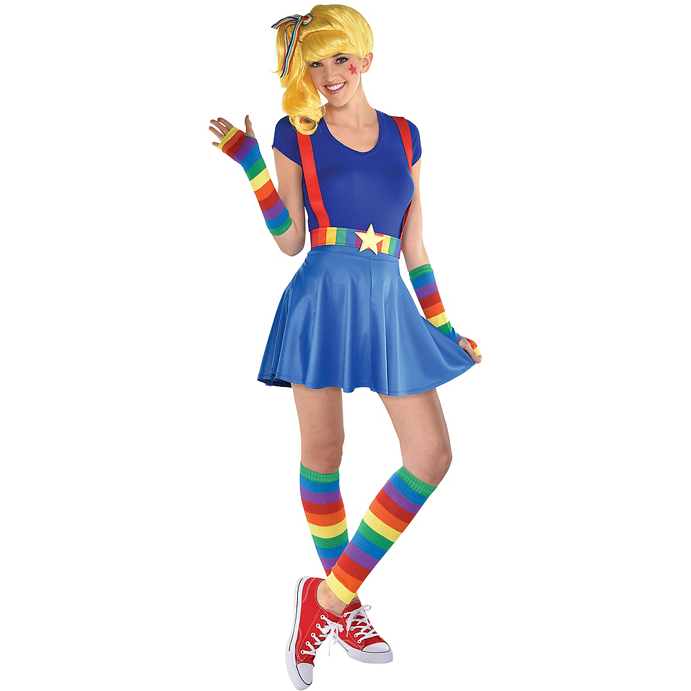 Adult Colorful Light Costume Accessory Kit Image #1