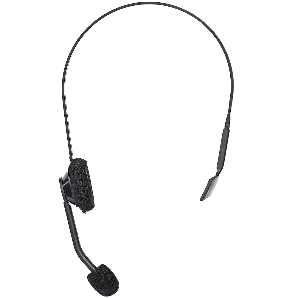 90s Microphone Headset Accessory Party City