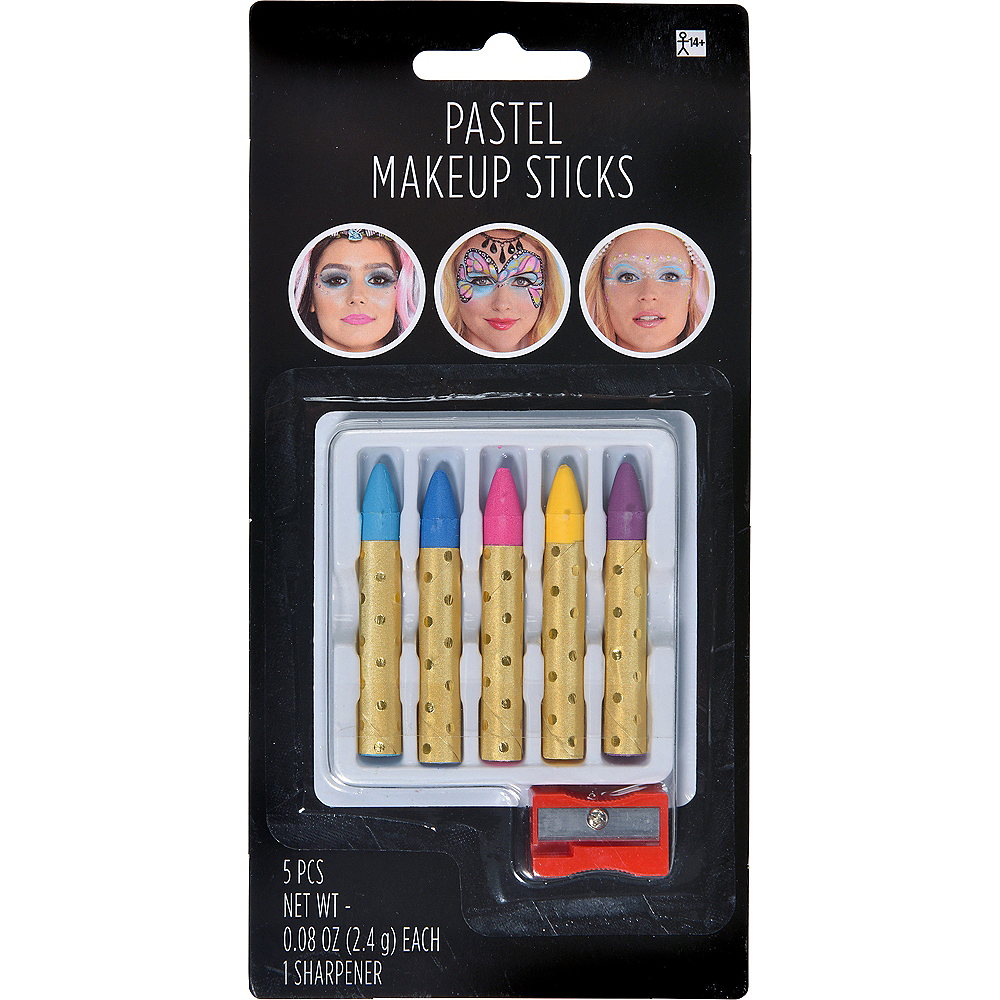 Pastel Makeup Sticks 5ct Image #1